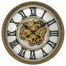 Gold Gear Clock Product Image