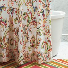Freesia Shower Curtain, MULTI, ONE