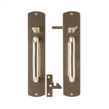 Curved Thumblatch Gate Hardware Silicon Bronze Brushed