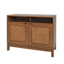 Branigan Rattan Panels Sideboard 2 Doors, Natural