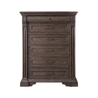 Bedford Heights 6 Drawer Chest in Estate Brown Product Image
