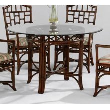 """Chippendale 48"""" Round Dining Table"""