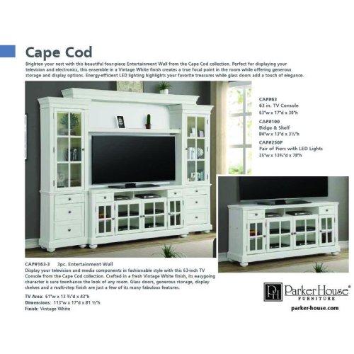 CAPE COD 63 in. TV Console