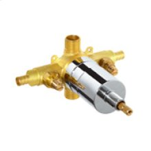 Rough Brass While Supplies Last - Gerber Plus® Pressure Balance Valve W/ Washerless Cartridge - Pex-b/c W/ Stops Gerber Pak