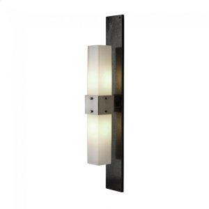 Double Charlie Sconce - WS423 Silicon Bronze Brushed Product Image