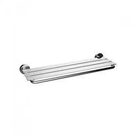 TH400 - Towel Shelf - Brushed Nickel