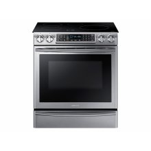 5.8 cu. ft. Slide-In Induction Range with Virtual Flame in Stainless Steel