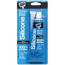 2.8 oz. DAP® All-Purpose 100% Silicone Rubber Sealant, Clear, Carton of 12