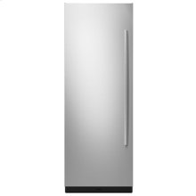 """30"""" Built-In Column Refrigerator with Euro-Style Panel Kit, Left Swing"""