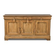 Cafe Au Lait Buffet, Driftwood Finish
