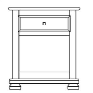 Havenridge 1 Drawer Nightstand