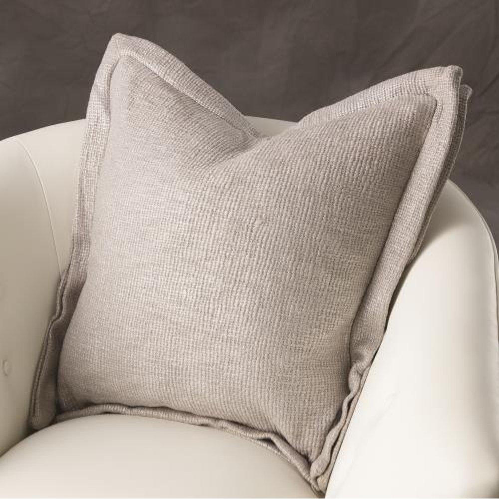 Olmo Pillow-Silver Print