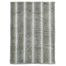 "Throw Sz102 Silver Grey 50"" X 70"" Throw Blanket"