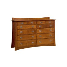 Highland 12 Drawer Dresser