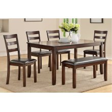 F2547 / Cat.19.p84- 6PCS DINING TABLE SET