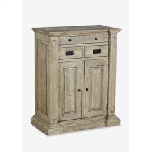 (LS) Lorraine Cabinet with 4 Drawers and 2 Doors (39x20x47)