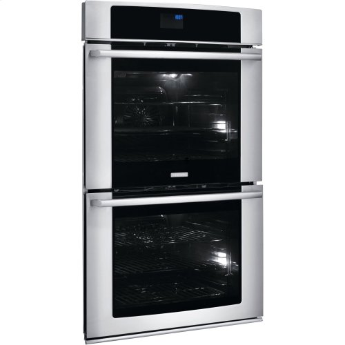 FLOOR MODEL 30'' Electric Double Wall Oven with Wave-Touch® Controls