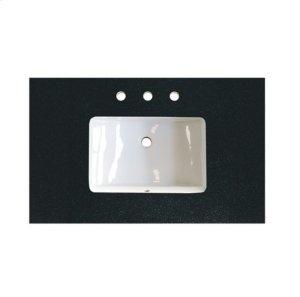 """3cm (1-1/4"""") 36"""" Black Absolute (BA) Granite Top Product Image"""