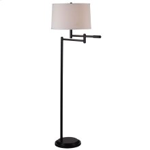 Theta - Swing Arm Floor Lamp