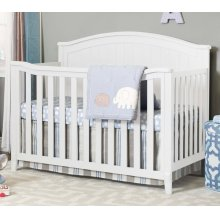 Fairview 4-In-1 Convertible Crib---WHITE