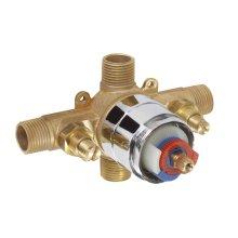 Rough Brass While Supplies Last - Gerber Plus® Pressure Balance Valve W/ Washerless Cartridge - Ips/sweat W/ Stops Gerber Pak