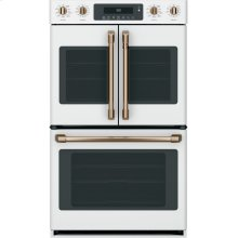 "Café 30"" Smart French-Door, Double Wall Oven with Convection"