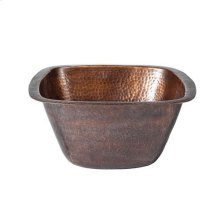 "15"" Tamsin Copper Bar u0026 Prep Sink - Antique Copper"