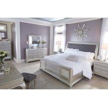 Coralayne - Silver 4 Piece Bedroom Set