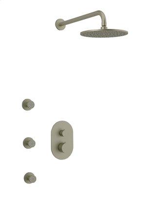 Rain Head + Body Jets RND - Brushed Nickel Product Image
