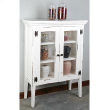 CC-CAB1282LD-WW  Cottage 2 Wire Door Country Cabinet