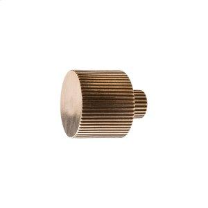 Flute Knob - K10020 Silicon Bronze Brushed Product Image