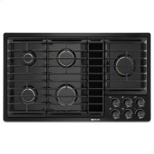"Black 36""JX3 Gas Downdraft Cooktop"