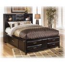 Kira - Almost Black 3 Piece Bed Set (Cal King) Product Image