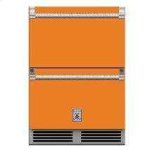 "24"" Hestan Outdoor Refrigerator Drawer and Freezer Drawer - GRF Series - Citra"