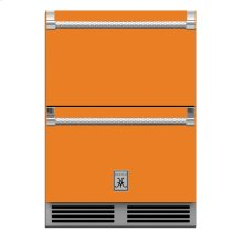 "24"" Hestan Outdoor Refrigerator Drawer and Freezer Drawer - GRF Series - Citra"