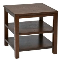 """Merge 20"""" Square End Table"""