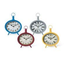 Louise Table Clocks - Ast 4