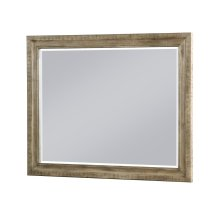 Emerald Home Kennewick Mirror Weathered Pine B561-24-05