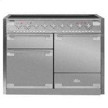 AGA Elise 48 Induction Stainless Steel with Chrome trim