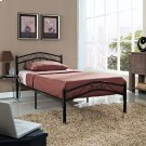 Townhouse Twin Bed in Black Product Image