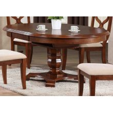 DLU-ADW4866-CT  Andrews Butterfly Leaf Dining Table  Chestnut