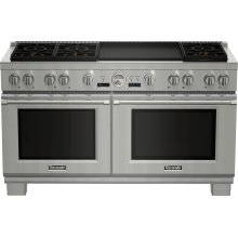 60-Inch Pro Grand® Commercial Depth Dual Fuel Range