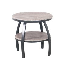 Emerald Home Carson Round End Table-t226-01-03