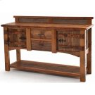 Heritage Bear Creek 2 Door 2 Drawer Server With Shelf Product Image