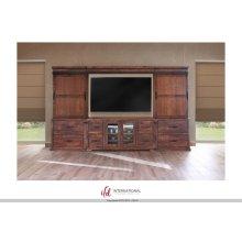 59 TV-Stand w/4 Drawer, 2 Doors + Bridge**