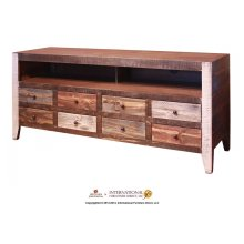 8 Drawer TV Stand