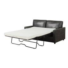 Queen 5/0 Sofa Sleeper W/usleeper50m Mattress #charcoal Pu