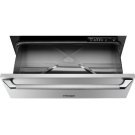 """Heritage 27"""" Epicure Warming Drawer, Silver Stainless Steel Product Image"""