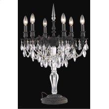 8606 Monarch Collection Table Lamp Dark Bronze Finish