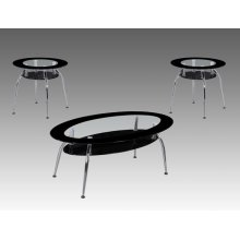 3-pk Mila Cocktail Table Base